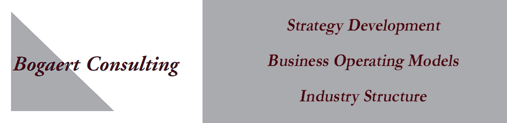 Bogaert Consulting - Frank Bogaert, Strategy Development, Business Operating Models, Industry Structure